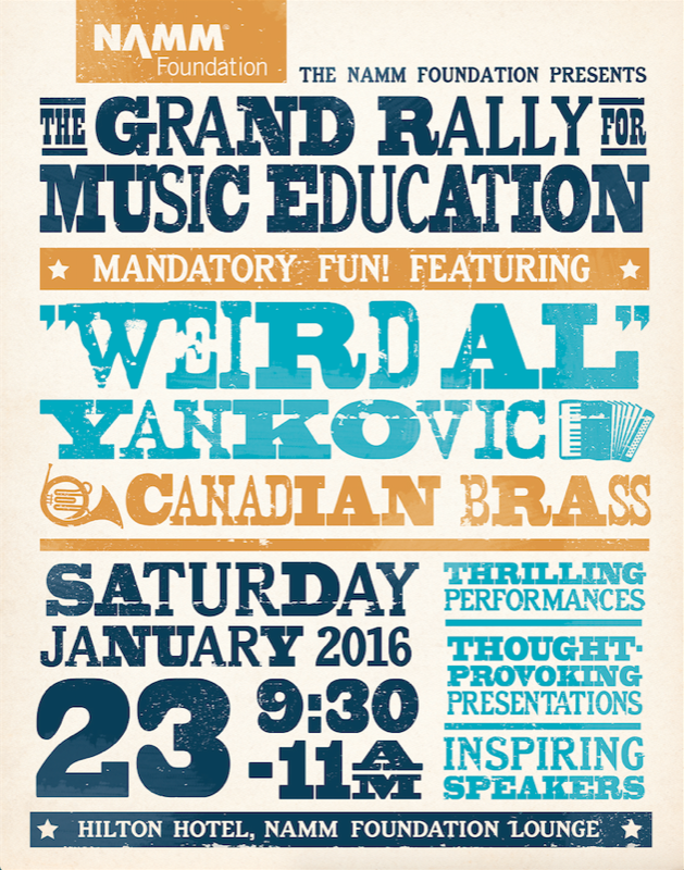 NAMM Foundation The Grand Rally for Music Education