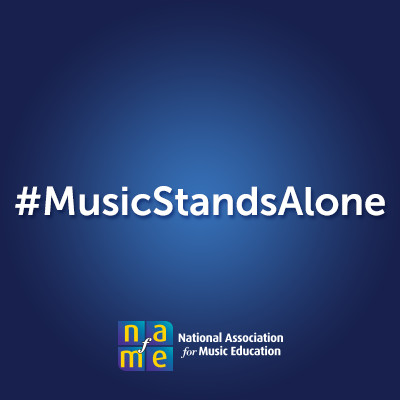#MusicStandsAlone National Foundation for Music Education