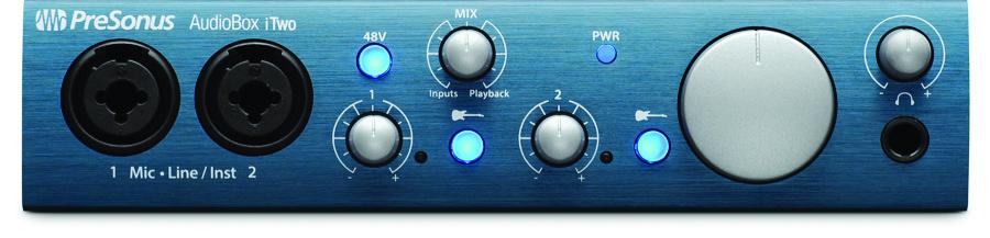Figure 2: AudioBox iTwo USB Recording Interface