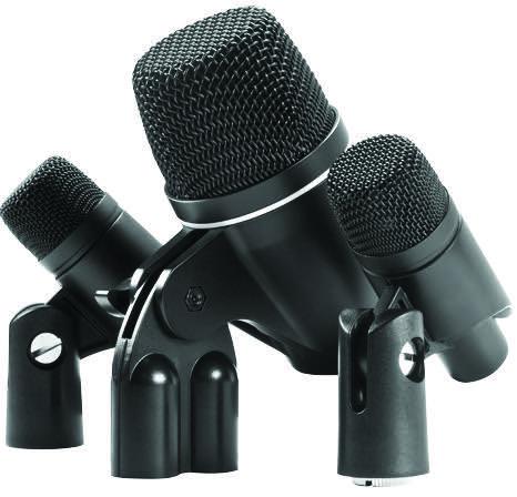 Figure 2: MXL PA-5K 3-Piece Drum Microphone Ensemble Kit
