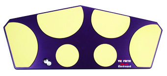 Heavy Hitter Quadropad Practice Pad from Vic Firth