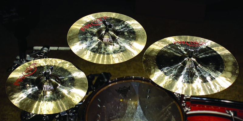 Impression Splash and China Cymbals