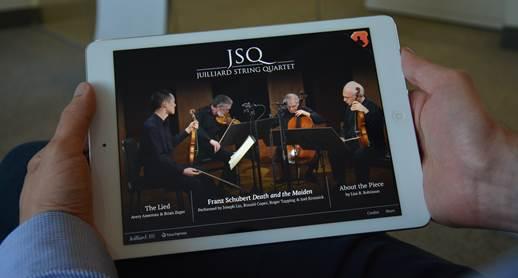Juilliard String Quartet app