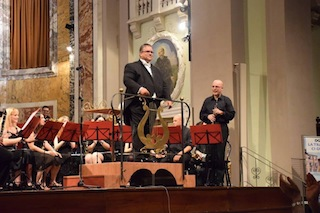 Conducting  in Fermo, Italy.
