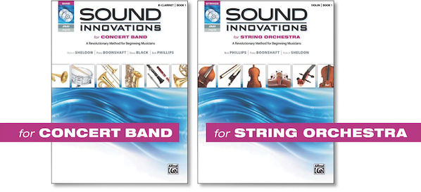 Sound Innovations Series for Concert Band or Orchestra from Alfred Music