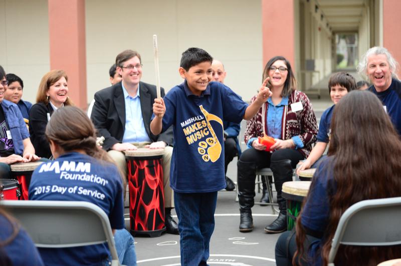 NAMM Brings Music to Elementary Schools