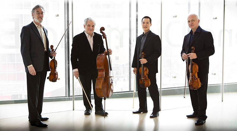 Juilliard String Quartet (photo by Simon Powis)