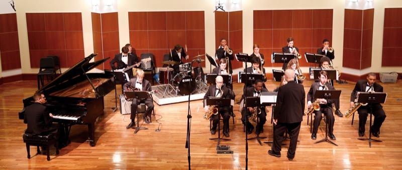 Merit School of Music student ensembles at last year's Performathon. Photo Credit: Jasmin Shah