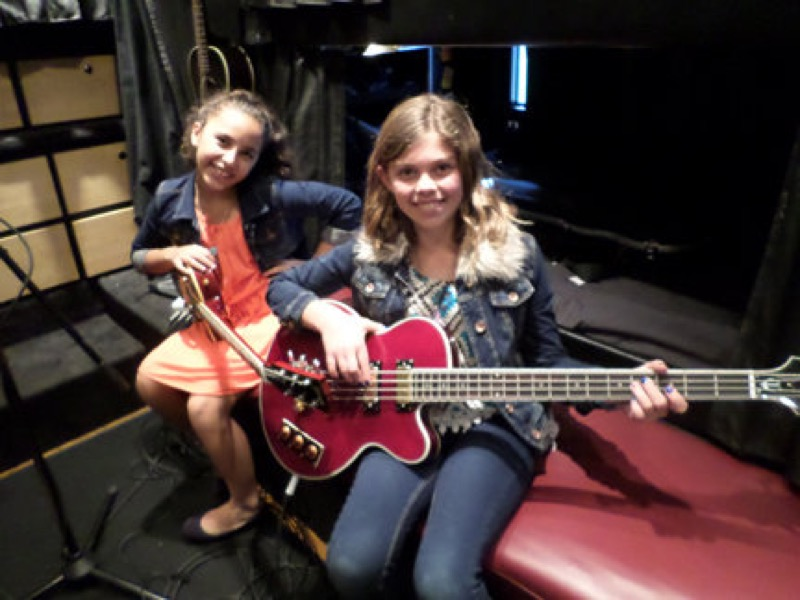 n Upton and Sarah Farid, students at Crown Point Junior Music Academy