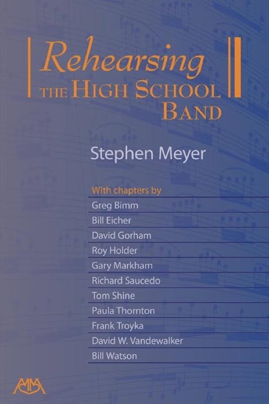 Rehearsing The High School Band