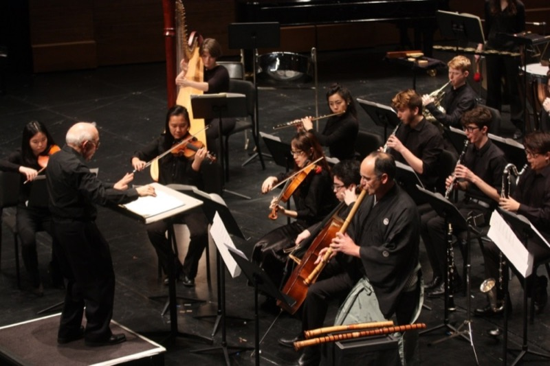 Joel Sachs Conducts the New Juilliard Ensemble (photo by HiroyukiIto)
