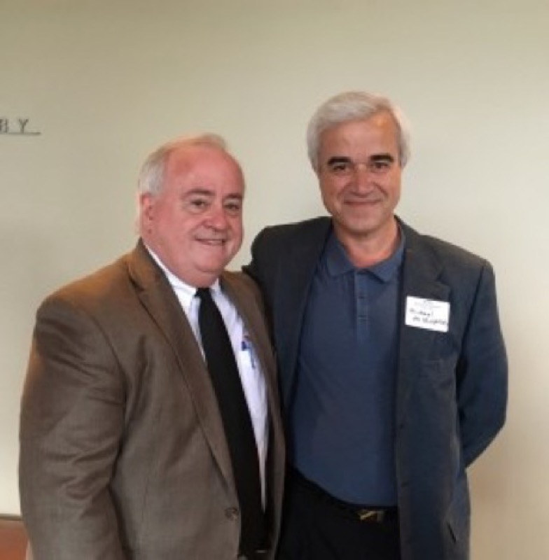 Manhasset was represented by Dan Roberts who took a moment to congratulate Michael Miropolsky on the success of Cascade Symphony Orchestra.