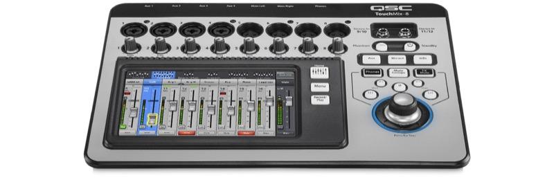 QSC Touch Mix-8