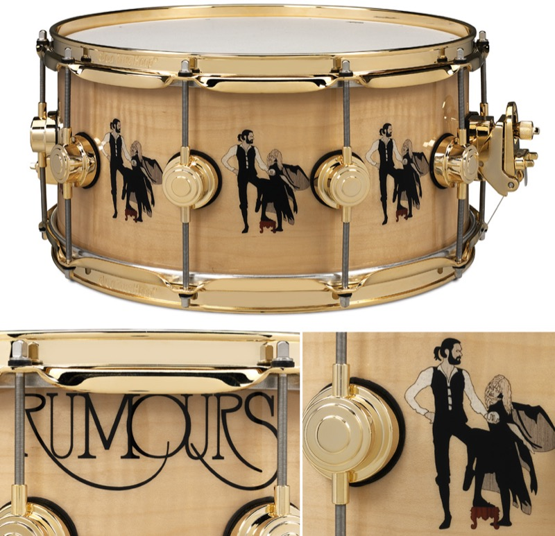"""Drum Workshop Collector's Series Limited Edition """"Rumours"""" Icon Snare"""