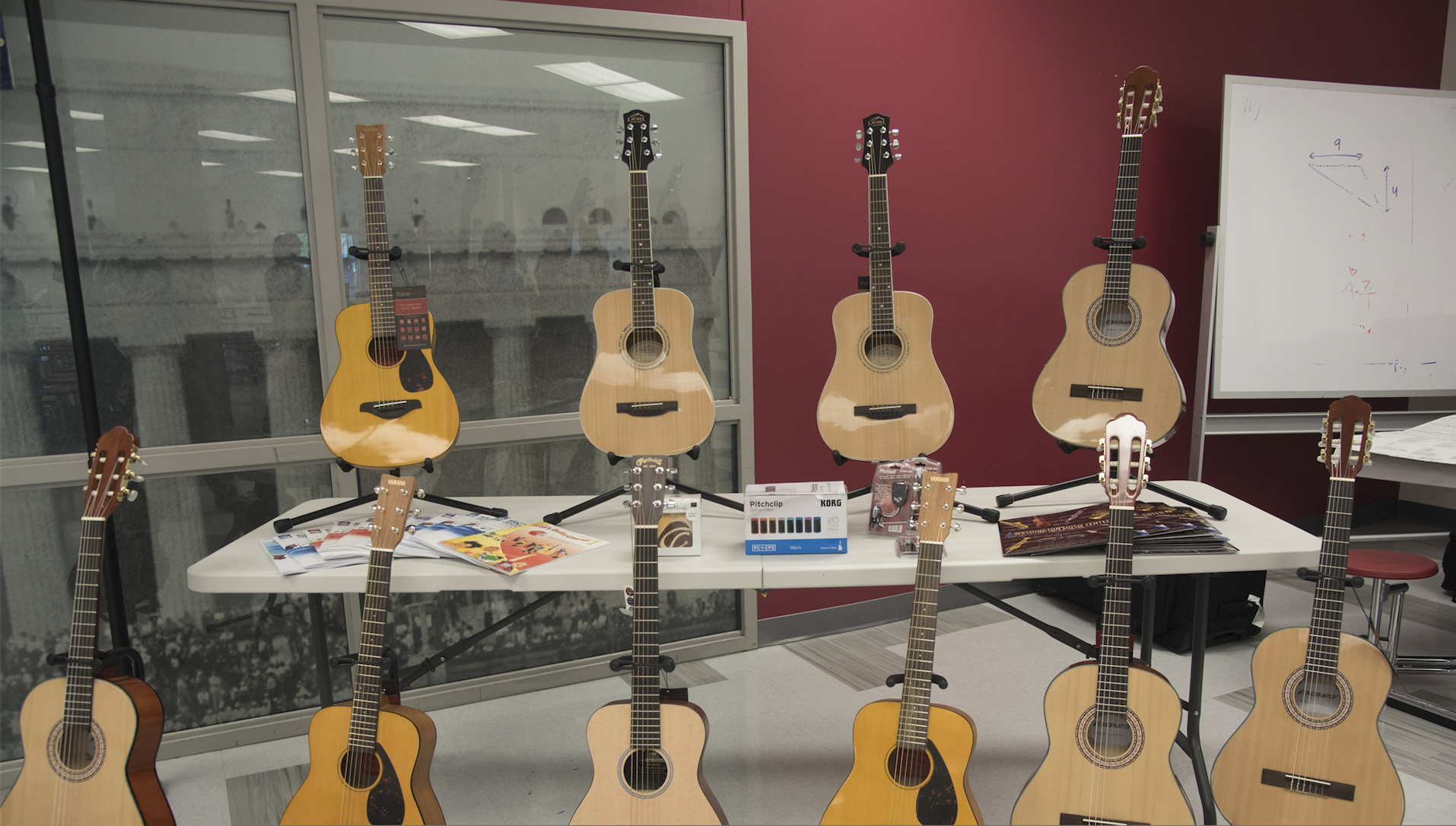 Guitars donated at NAMM Day of Service