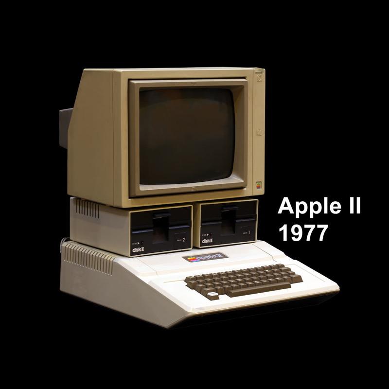 Apple II circa 1977