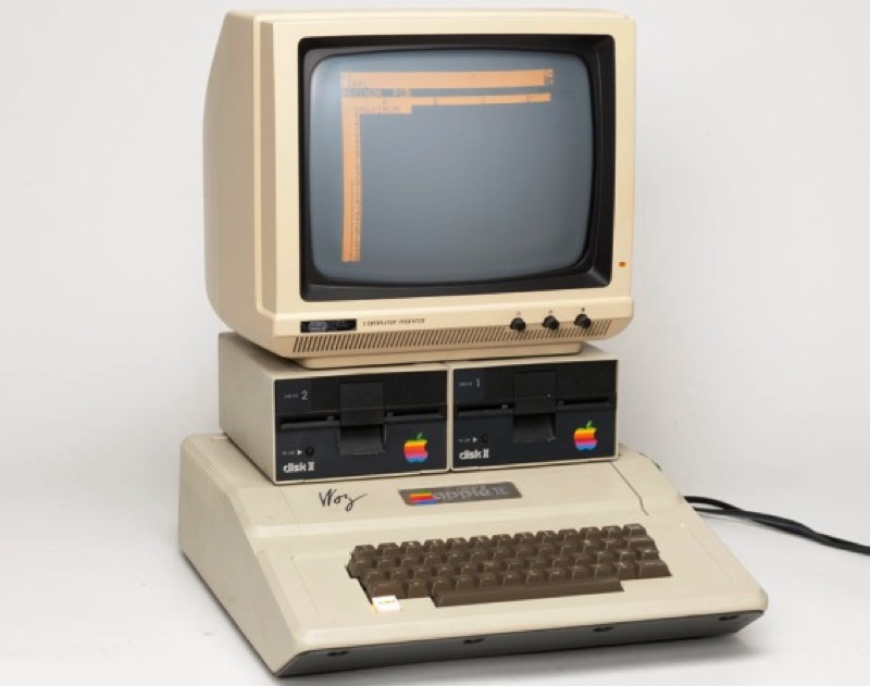 Apple II was the first computer to run Pyware.