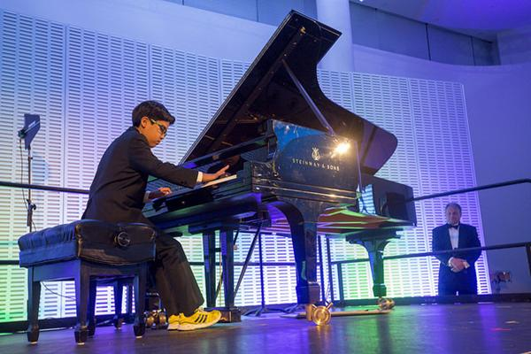 I remember the morning my mom told me I had received the Jack Kent Cooke Young Artist Award. I was so happy! I knew my mom struggled to pay for my musical training, so it was a huge relief for my family and me.-Oscar Paz-Suaznabar, age 9